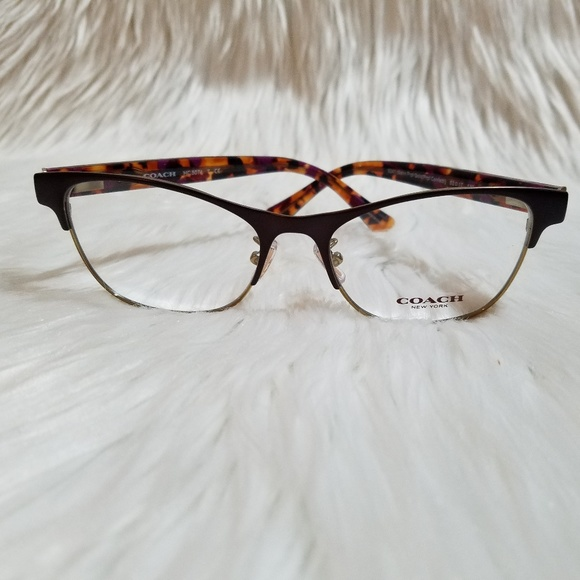 b01e952b74 COACH Eyeglasses Satin Purple Gold Purple confetti